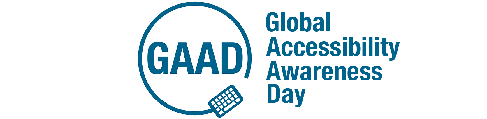 Logo Global Accessibility Awareness Day